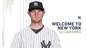"New York Yankees on Twitter: ""Today, the Yankees announced that they have  signed INF DJ LeMahieu to a 2-year contract through the 2020 season. To  make room on the 40-man roster, the"