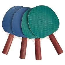 table tennis bats. 4 pack table tennis bats - assorted n
