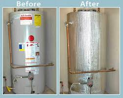 water heater blanket insulation non fiberglass fits up to 80 gallons tank