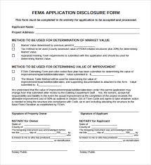fema form fema application form 8 download free documents in pdf
