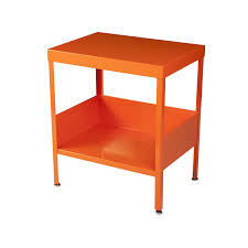 amazoncom rmp mid century industrial nightstand  end table