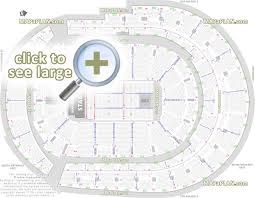 Rogers Arena Seat Numbers Chart Bridgestone Arena Seat Row Numbers Detailed Seating Chart