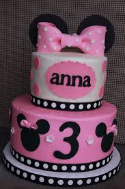 Birthday Girl 2 Minnie Mouse Birthday Cake For A 3 Year Old Girl