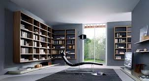 Modern home library design Wall Mount Modern Home Library Design Home Design Ideas Home Library Design Home Design Ideas