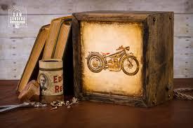 edison lightbox motorcycle light box table