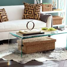 Seagrass Living Room Furniture Modern Living Room At Modern Home Using Glass Square Table For