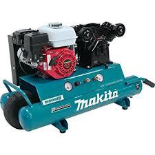compresor de aire de gasolina. makita mac5501g compresor de aire a gasolina, motor 5.5 hp, desempeño 90psi/40psi gasolina