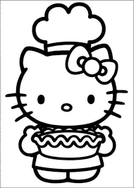 Hello kitty cooking coloring pages, hd png download is free transparent png image. Hello Kitty Cooking Coloring Pages Hello Kitty Japanese Ïロー ティ Hepburn Harō Kiti Hello Kitty Colouring Pages Hello Kitty Coloring Hello Kitty Printables
