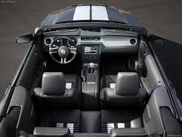 ford mustang convertible interior. ford mustang shelby gt500 convertible 2010 interior o