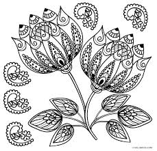 Coloring Pictures Free Printable Flower Coloring Pages For Kids