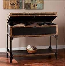 narrow trunk console sofa table
