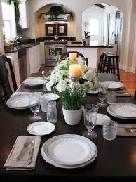 kitchen table centerpiece design ideas