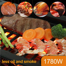 You may have read that outdoor grills can produce chemicals (heterocyclic amines and polycyclic aromatic hydrocarbons) that increase your risk of certain cancers. Kitchen Academy Indoor Infrared Grill Portable Non Stick Electric Tab Alphamarts