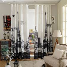 Paris Curtains For Bedroom Online Buy Wholesale Eiffel Tower Curtain Bedroom From China