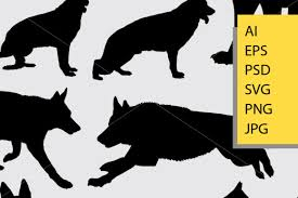 All german shepherd vinyl decal sticker decals digital download cuttable designs heart deutscher schäferhund tattoo lovers gifts. German Shepherd Silhouette Svg Free Svg Cut Files Create Your Diy Projects Using Your Cricut Explore Silhouette And More The Free Cut Files Include Svg Dxf Eps And Png Files