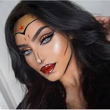 wonder woman diy makeup ideas easy scary for women party beauty beautytips eyemakeup eyeliner