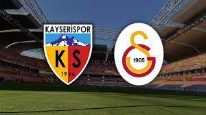 Kayserispor Galatasaray CANLI İZLE