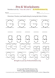 Pre Kindergarten Worksheets Free Collection Of Free Free ...