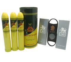 montecristo open regata gift pack tin of 3 cigars