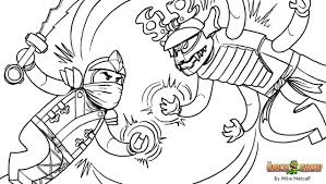 Small Picture Lego Ninjago Coloring Pages esonme
