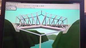 West Point Bridge Designer Best Design West Point Bridge Designer Crazy Bridge Youtube