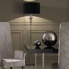 contemporary floor lighting. Contemporary Designer Italian Chrome Crystal Floor Lamp Lighting