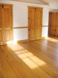 Reclaimed solid wood flooring, like this example from Authentic Wood  Floors, comes with the