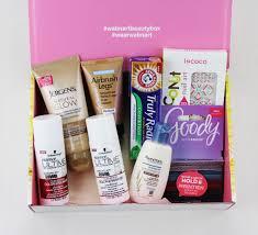 walmart beauty box summer 2016 trendsetter items
