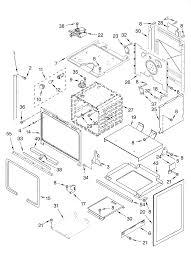Kitchenaid Slide In Range Electric Parts Model Kess907sss00