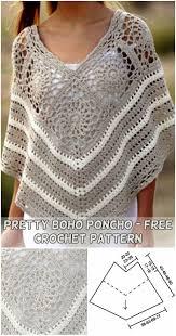 Free Crochet Poncho Pattern Unique Decoration