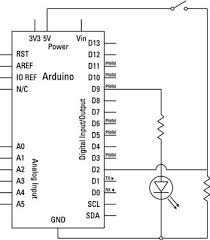 arduino circuit diagram wiring diagrams for Arduino Output Pins at Arduino Wiring Diagram Maker