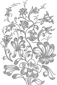 Beautiful Flower Designs For Glass Painting Flower Printed Mind Flower Designs For Glass Painting