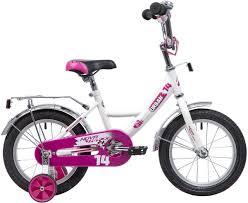 """Велосипед <b>Novatrack Urban</b>, <b>белый</b>, <b>14</b>"""""""