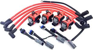 d585 uf262 ignition coil packs mazda 10mm wires rx 8 rx8 adapter d585 uf262 ignition coil packs mazda 10mm wires rx 8 rx8 adapter wiring harness o rings o ring kits amazon