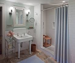 inspired shower stall curtains in bathroom traditional with lanai screen enclosures next to tiled shower idea alongside ceramic