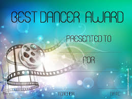 Dance Award Certificate Printable Certificates Dance Download Them Or Print
