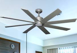 brushed nickel 1 ceiling fan with led light