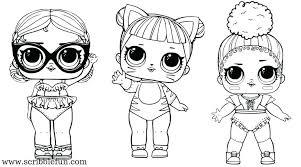 Lol Doll Coloring Pages Pets Surprise Pets Coloring Pages Hop Hop