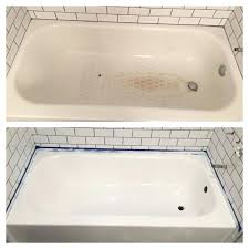 bathtub rust bathtub rust hole repair