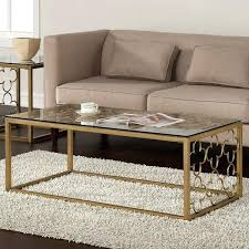 glass and gold coffee table furniture inspiration ideas uk