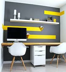 home office color schemes. professional office color schemes budget home design with white ikea floating shelf 0