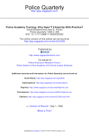 Cooper Institute Law Enforcement Standards Chart Pdf Police Academy Training Why Hasnt It Kept Up With