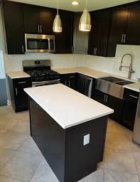 iced white quartz slab cm stone works granite kitchen farmer sink iced white quartz