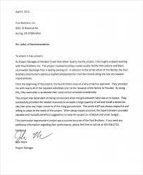 Construction Employee Re mendation Letter