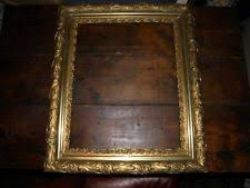 antique wood picture frames. Vintage Antique Gold Gesso On Wood Picture Frame Ornate Flower Design Antique Wood Picture Frames