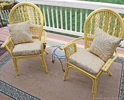 painting rattan furniturepainting chairs