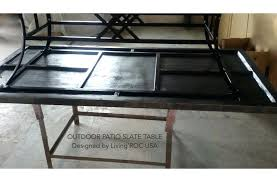 slate table welsh slate table lamps