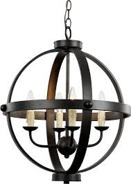 home nice oil rubbed bronze chandeliers 8 trans globe 70594 rob sphere contemporary mini hanging chandelier