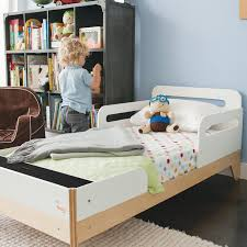 modern toddler bed. Unique Bed Little Modern Convertible Toddler Bed Intended