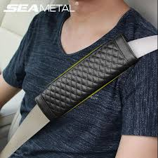 best universal car seat belts covers man made leather black auto padding seat belt car covers in cars interior accessories under 6 04 dhgate com